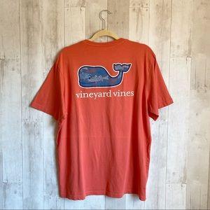 [Vineyard Vines] Short Sleeve Pocket Whale T-Shirt
